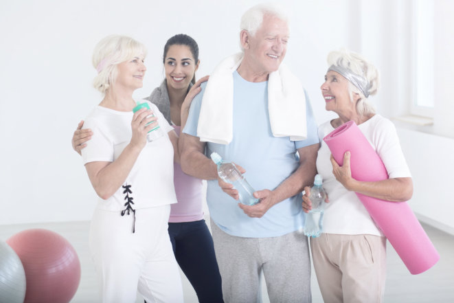 How to Make Home Exercises Possible for Seniors?
